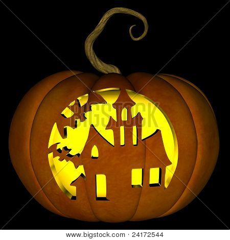 Halloween Jack O Lantern 09