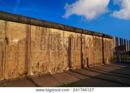 Berlin Wall memorial in Germany Berliner Mauer