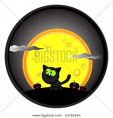 Halloweenl Cat