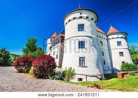 Bethlen Castle, Cetatea De Balta. Medieval Fortification In Transylvania, Romania, Europe.
