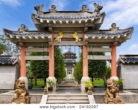 Chinese Style Entrance