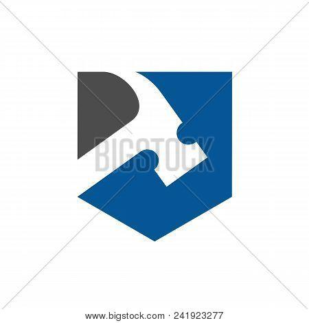 Hammer Vector Logo, Renovation, Repair Or Repairment Icon