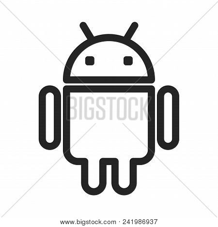 Android Icon Simple Vector & Photo (Free Trial) | Bigstock
