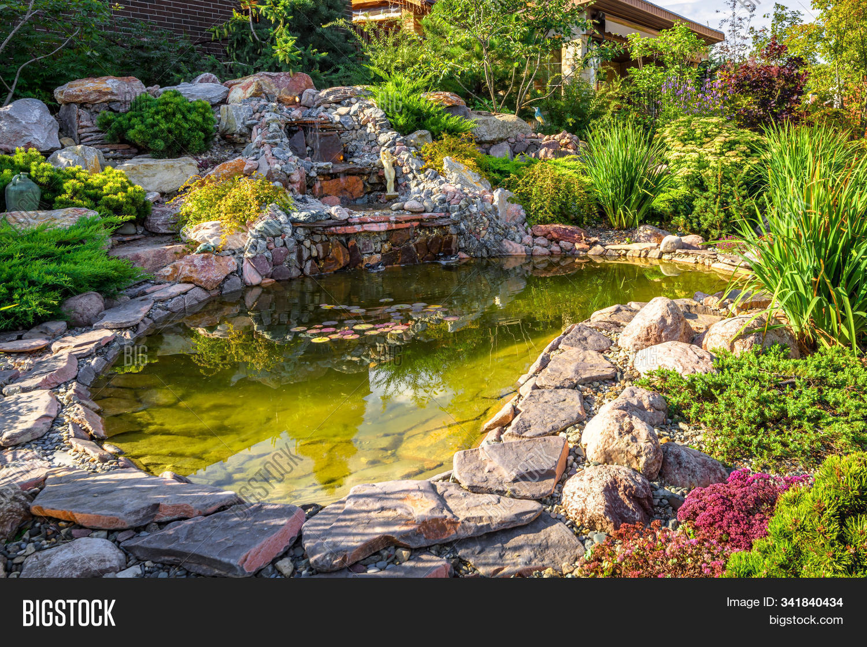 Landscape Design Home Image Photo Free Trial Bigstock