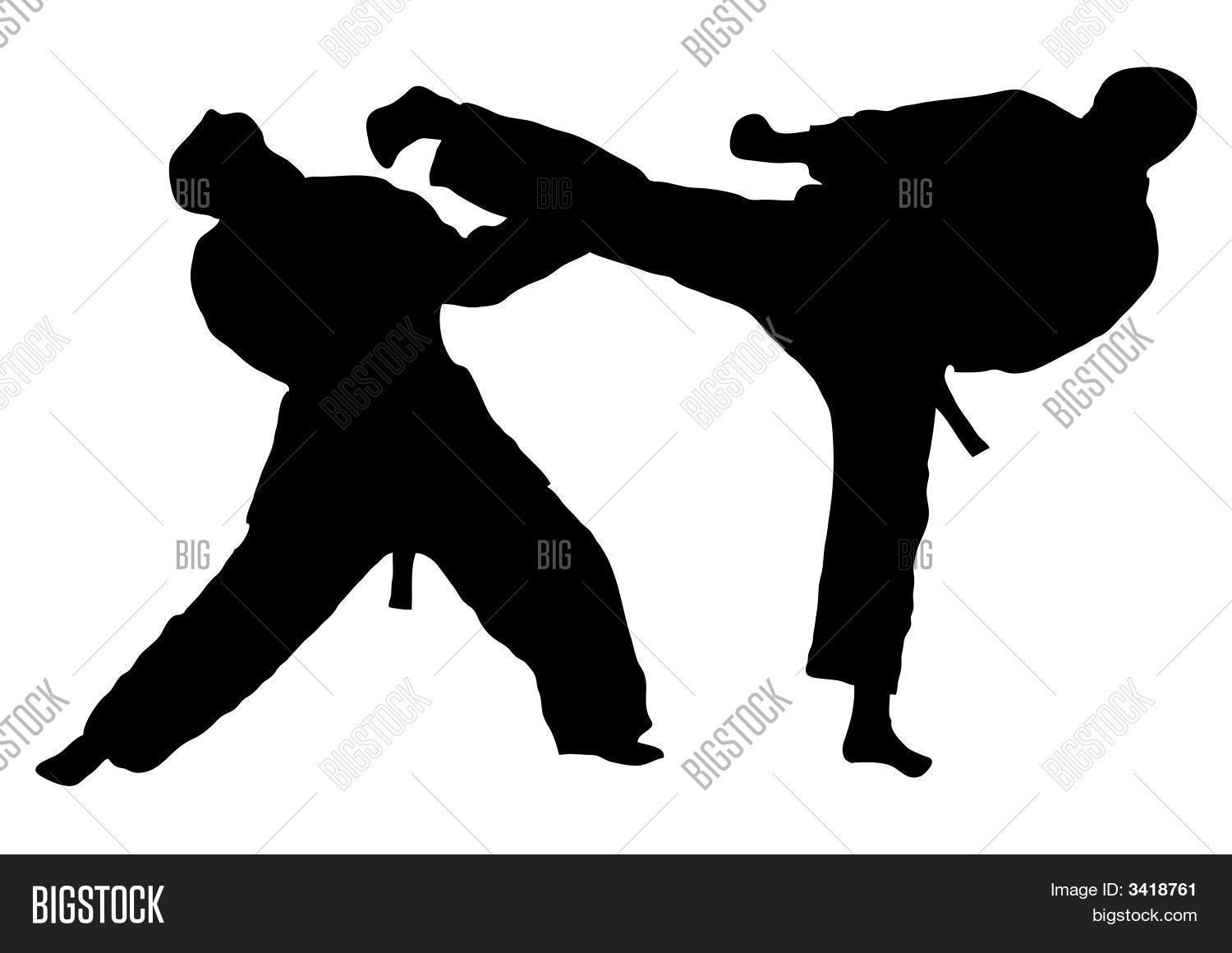 karate fight image photo free trial bigstock