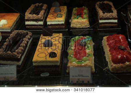 Barcelona, Spain - September 30th 2019: Luxurious Confectionery On Display In A Luxurious Supermarke