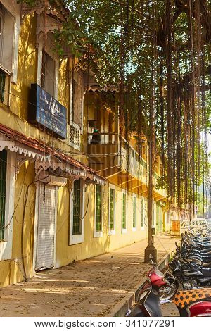 Panjim, Goa, India - 16 December 2019: Institute Menezes Braganza.