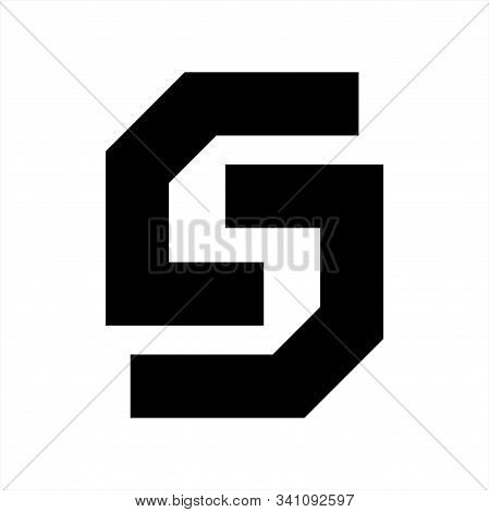 S, Csc, Lsl, Cc Initials Geometric Letter Company Logo