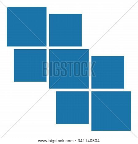 Vector Frame For Photos And Pictures, Photo Collage, Photo Puzzle. Vector Mood Board. Eps 10