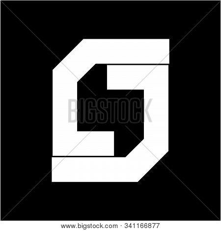 Simple S, Cc, Csc Jsj, Jj Geometric Company Logo