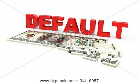 Default Of Usa Dollar Currency