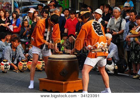 Matsuri Is Traditional Most Famous Festival