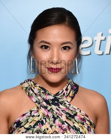 LOS ANGELES - OCT 05:  Ally Maki arrives to the American Humane Hero Dog Awards  on October 5, 2019 in Hollywood, CA