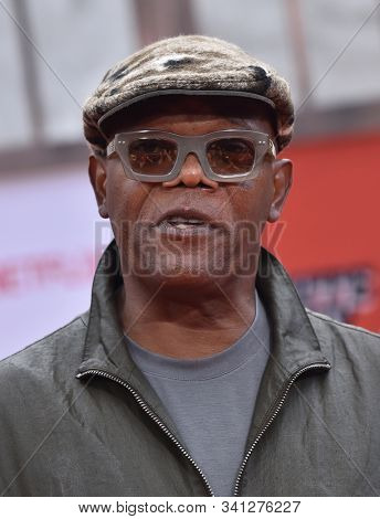 LOS ANGELES - SEP 28:  Samuel L. Jackson arrives for 'Dolemite Is My Name' Los Angeles Premiere on September 28, 2019 in Westwood, CA