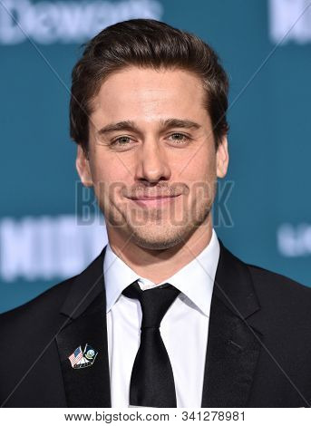 LOS ANGELES - NOV 05:  Tony Nowicki arrives for the 'Midway' World Premiere on November 05, 2019 in Westwood, CA