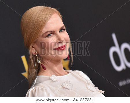 LOS ANGELES - NOV 03:  Nicole Kidman arrives for the Hollywood Film Awards 2019 on November 03, 2019 in Beverly Hills, CA