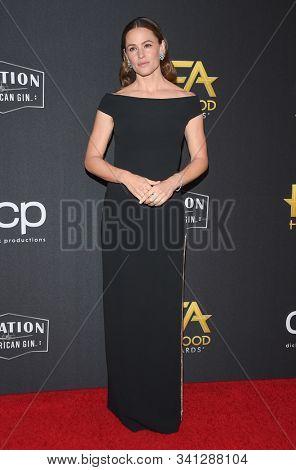 LOS ANGELES - NOV 03:  Jennifer Garner arrives for the Hollywood Film Awards 2019 on November 03, 2019 in Beverly Hills, CA