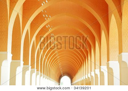 Arabic architecture interior arc