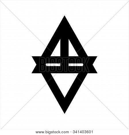 Line Art Av, Vta, Atv, Va Initials Geometric Company Logo
