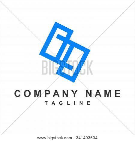 Geometric S, Pp, Psp Initials Company Logo