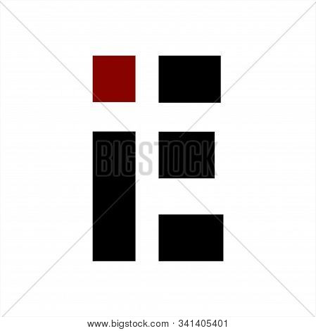 Ie Initials Geometric Letter Company Logo And Icon