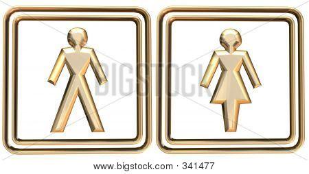 Man & Woman Sign
