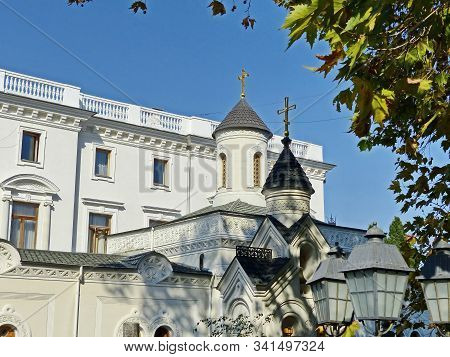 The Holy Cross Exaltation Palace Church And The Chapel In Livadia Was Erected Under Emperor Alexande