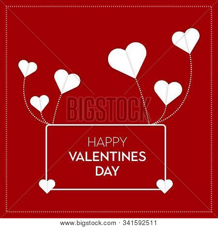 Valentine's Day, Abstract background. Abstract blue business science or technology background