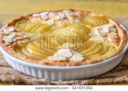 La Tarte Bourdaloue - French Pear Tart