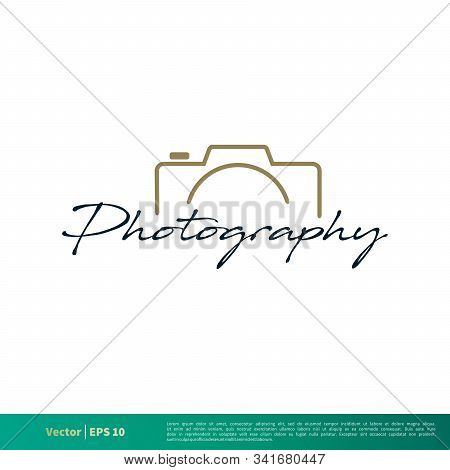 Photography Icon Vector Logo Template Illustration Design. Vector Eps 10.