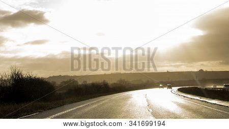 Hazardous Road Sheen