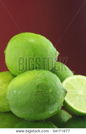 freshly cut lemons fresh from the farm