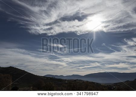 Clouds And Lights Of A Sublime Landscape