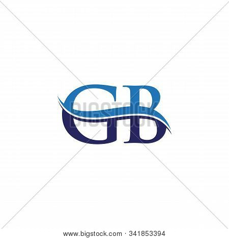 Gb Letter Type Logo Design Vector Template. Abstract Letter Gb Logo Design
