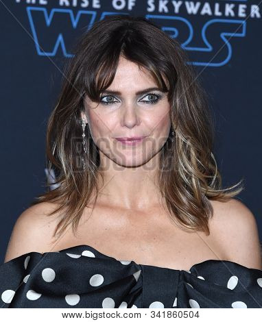 LOS ANGELES - DEC 16:  Keri Russell arrives for the 'Star Wars: The Rise of Skywalker' Premiere on December 16, 2019 in Hollywood, CA