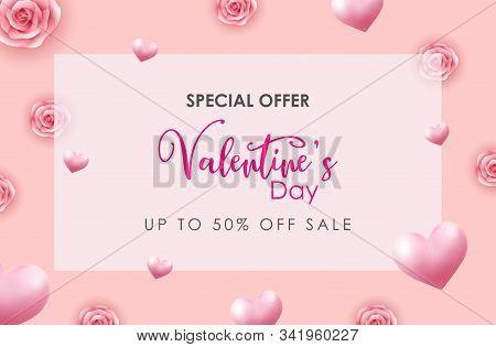 Valentine, Valentine Day, Valentines Background, Valentines Day With Heart On Pink Background, Valen