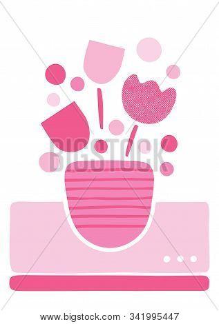 Cute Flower Greeting Card