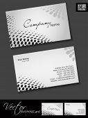 Abstract colorful bright color professional and designer business card template or visiting card set with halftone effect. EPS 10. poster