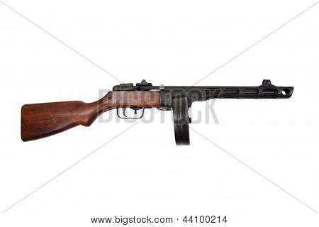 Wwii Period Soviet Submachine Gun Ppsh-41