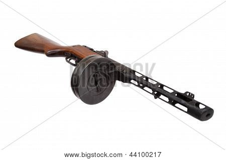 Soviet Submachine Gun Ppsh