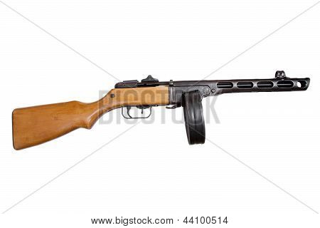 Submachine Gun Ppsh