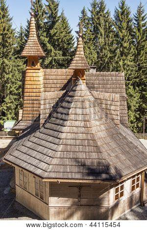 Exterior Of Mother Of God Tatras Queen Sanctuary - Poland.