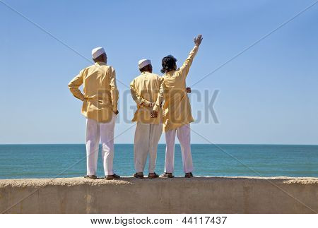 3 Hindu clerics It Came From Over There