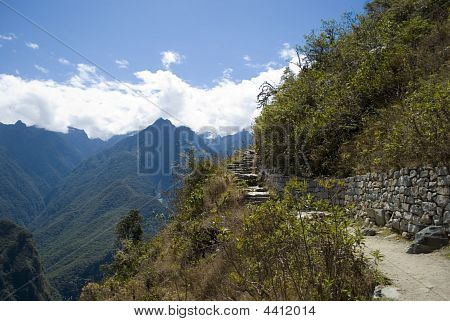 Machu Picchu from Temple of the Sun