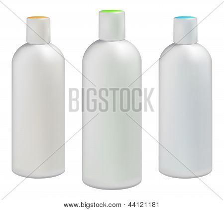 Пластмассовых бутылок для косметических