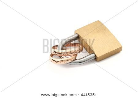 Padlock With Rings