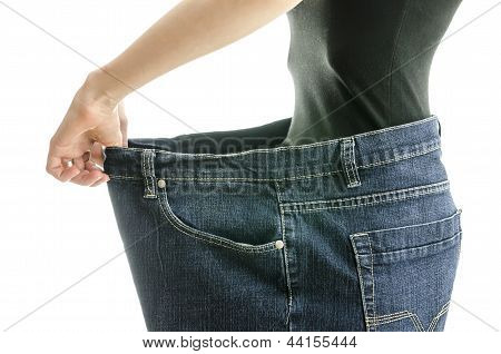Successful Weight Loss Concept