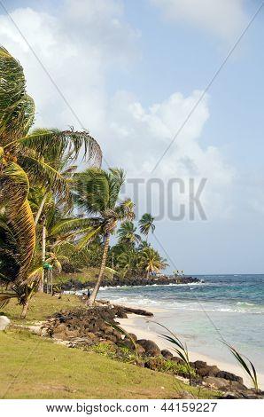 Sally Peaches Beach Sally Peachie Big Corn Island Nicaragua Caribbean Sea