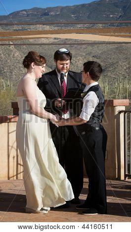 Rabbi With Gay Couple