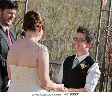 Outdoor Civil Union Ceremony